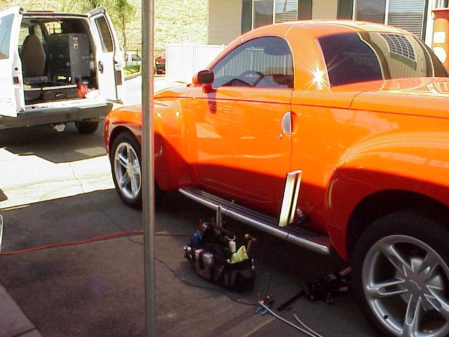 West Coast Paintless Dent Repair Amp Removal Mobile Orange